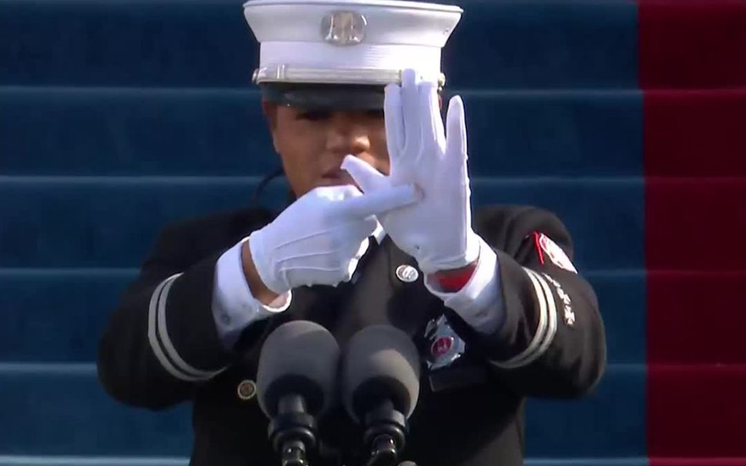 The Story Behind the Inauguration Sign Language Pledge of Allegiance