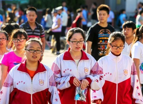 In This Chinese City, Eyesight Is Part of Students' Test Scores