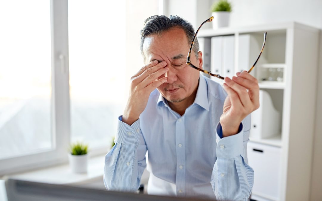 How Pandemic Stress Can Harm Your Eyesight